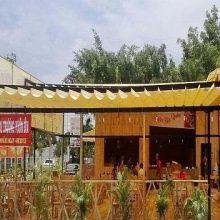 Mái xếp nhà hàng